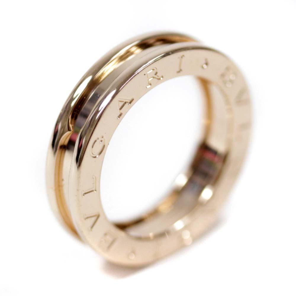 【中古】BVLGARI ブルガリ ビーゼロワン リング・指輪 ユニセックス 9号 PG K18ピンクゴールド ジュエリー【新品仕上げ済み】