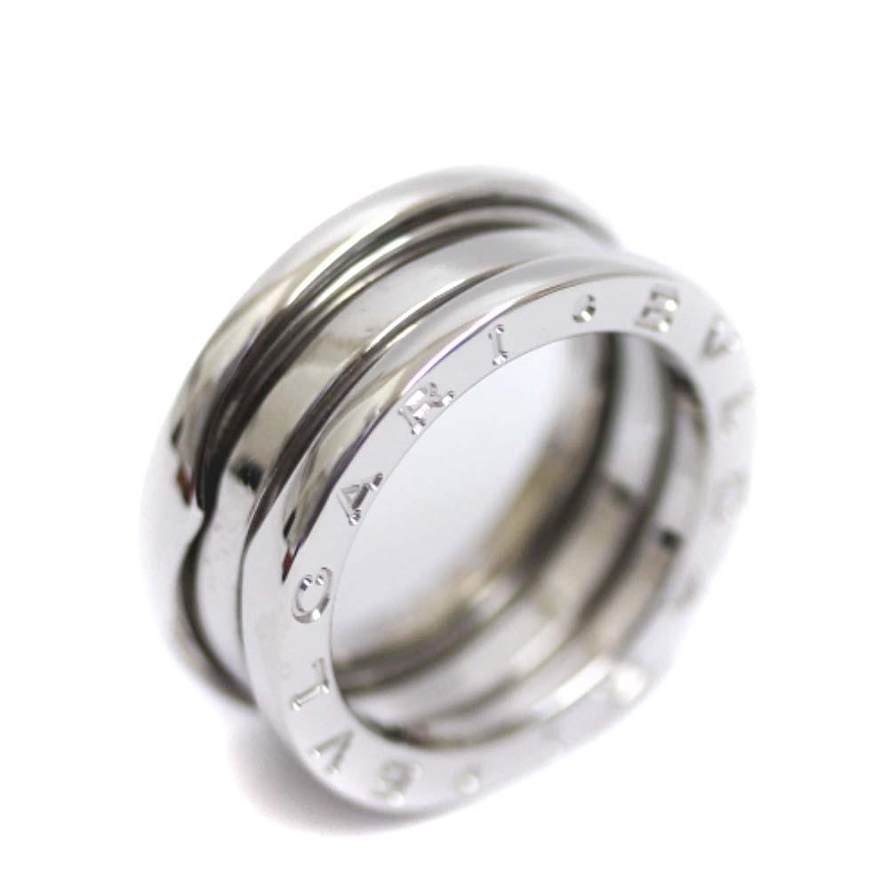 送料無料 3万円以上ご購入でご利用可能 日本最大級の品揃え ショッピングローン金利手数料が最大24回まで無料 中古 BVLGARI ブルガリ B-ZERO1 ビーゼロワン 750 指輪 感謝価格 K18ホワイトゴールド 9.5号 WG ホワイトゴールド ジュエリー ユニセックス リング