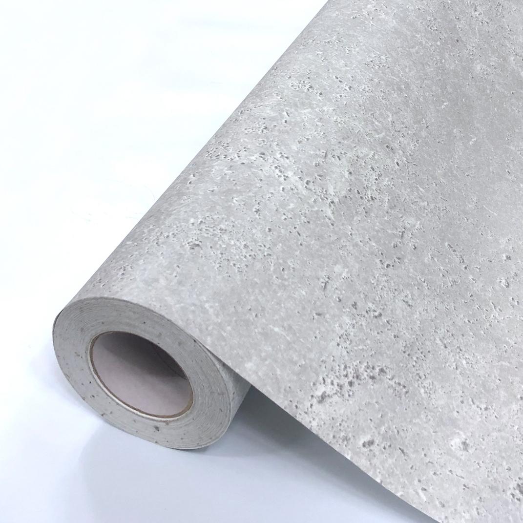 大人気のコンクリート模様の壁紙シール 壁紙シール DIY 長さ15m シール式 国内正規品 はがせる お気に入 コンクリート模様 グレー コンクリート柄 のりつき 補修が自分で簡単に 壁紙 のり付き 剥せる壁紙 おしゃれ の上から貼る壁紙 防水 貼り替え はがせる壁紙