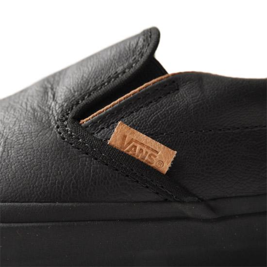 831f4a3dfc Golden State  VANS vans California CA leather slip-ons V13F V79U ...
