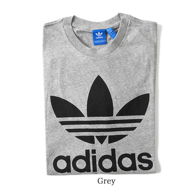 adidas originals adidas originals ADI TREFOIL TEE trefoil trefoil short sleeve tee shirt (mens and Womens)--