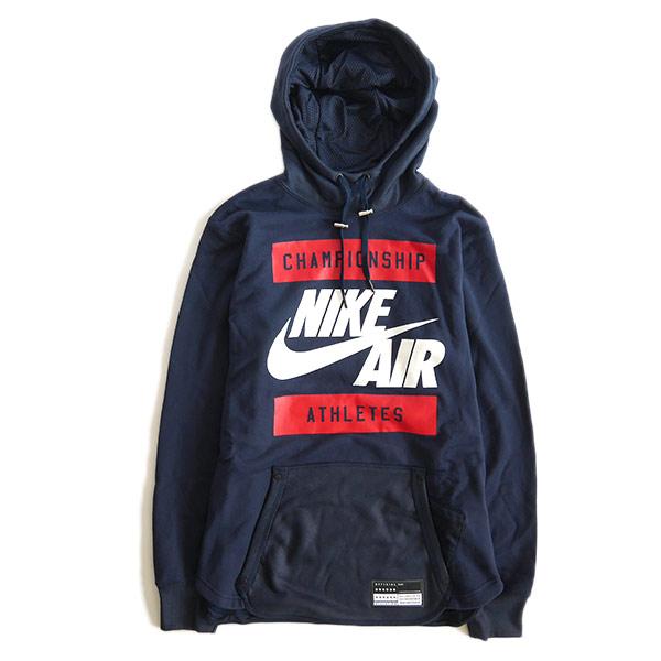 NIKE AIR Nike Air swept Parker Hoodie pullover-802639 basketball (men s) 47ec83731
