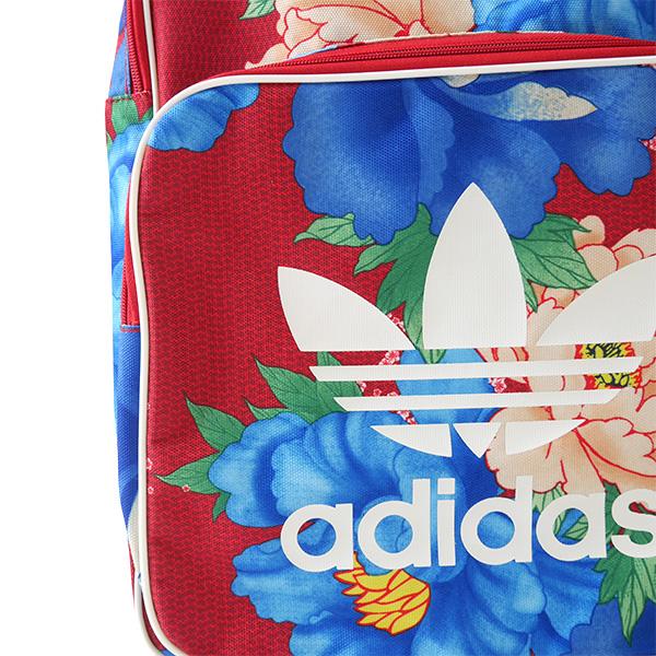adidas originals Adidas originals collaboration floral design backpack  BK7035 The Farm Company flower red rucksack (men s Lady s) 34a0d59514a71