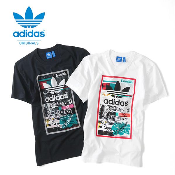 adidas adidasuorijinarusuguraffikku T恤BP8982 MGP43(男子,女子)