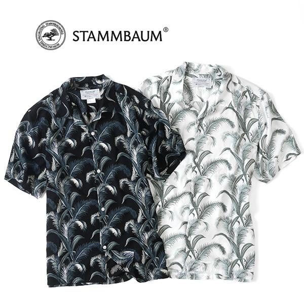 STAMMBAUM シュタンバウム ビンテージ レーヨン アロハシャツ ALS001 ハワイアン 日本製 (メンズ)