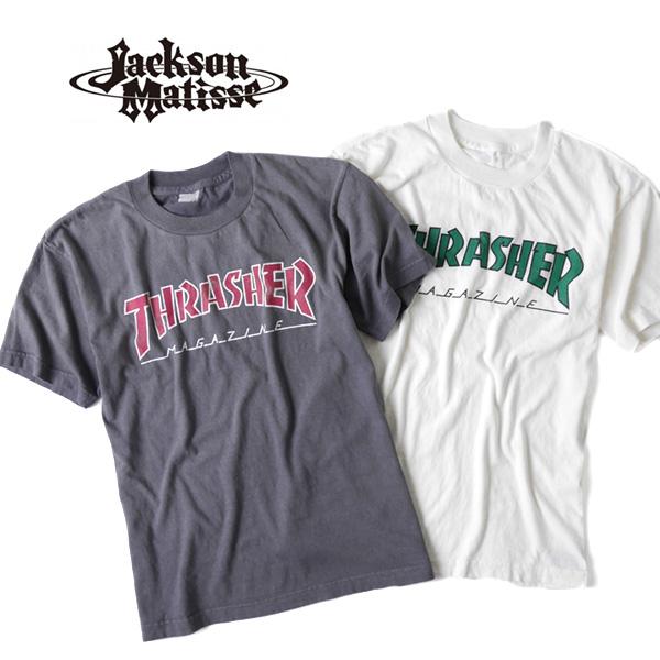 JACKSON MATISSE ジャクソンマティス スラッシャー ロゴT THRASHER JM17AW019 (メンズ レディース)
