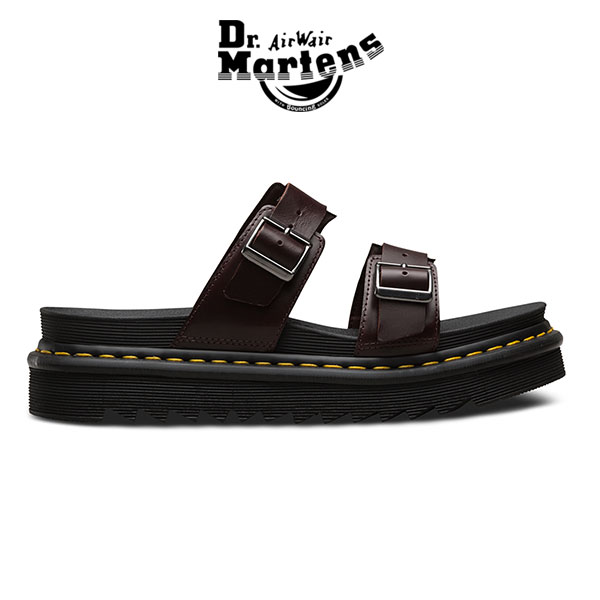 7c1db55b Dr.Martens doctor Martin MYLES Myles slide sandals ZEBRILUS leather sandals  (men's Lady's) ...