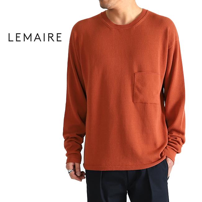 【SALE 50%OFF】LEMAIRE ルメール コットン ニットセーター (メンズ)