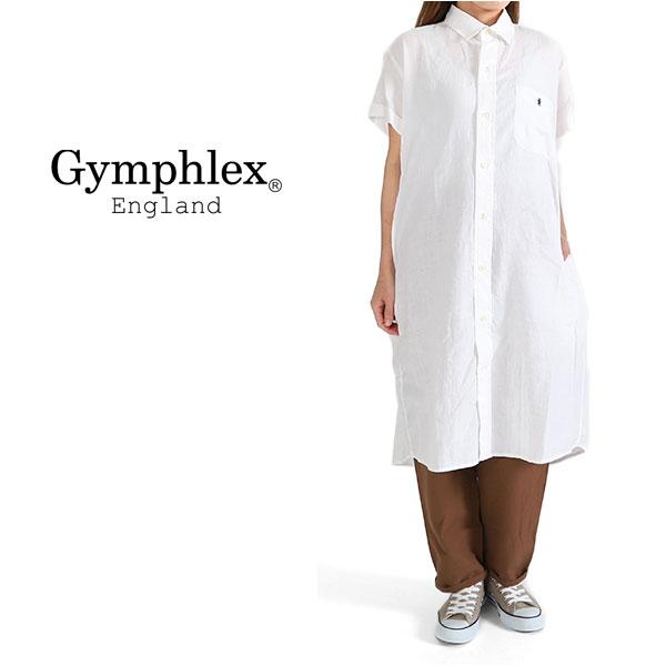 GYMPHLEX ジムフレックス リネン ワンピース J-1098 KLS (レディース)