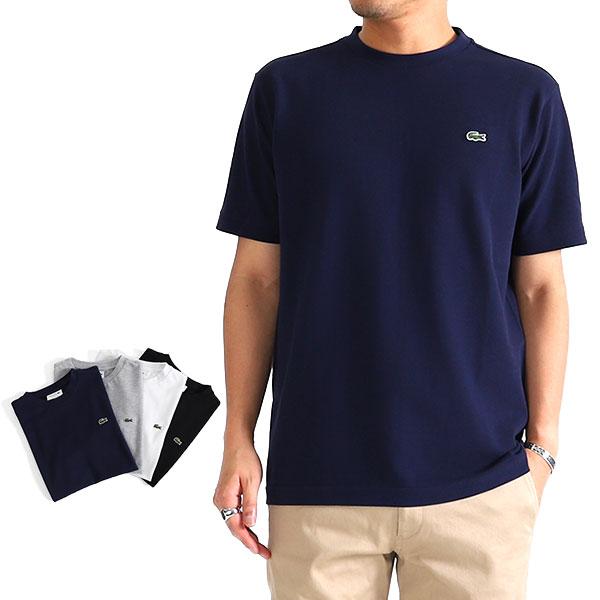 LACOSTE ラコステ レギュラーフィット 鹿の子Tシャツ TH635EL (メンズ)