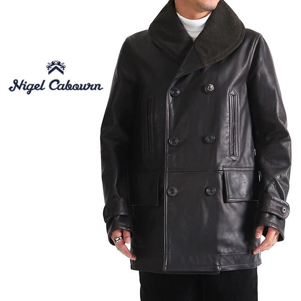 Nigel Cabourn ナイジェルケーボン ジープコート レザージャケット 80370090000 ホースハイド カーコート (メンズ)