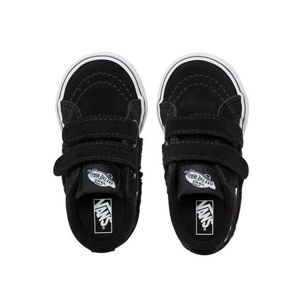 fe6d0db161bfe VANS vans monster face skating high mid Sk8-Mid Reissue V sneakers shoes  (ベビーインファント)