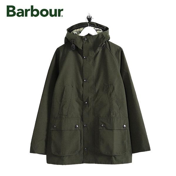Barbour バブアー フーデッド ビデイル スリム ノンワックスジャケット MCA0508 フード付き (メンズ)