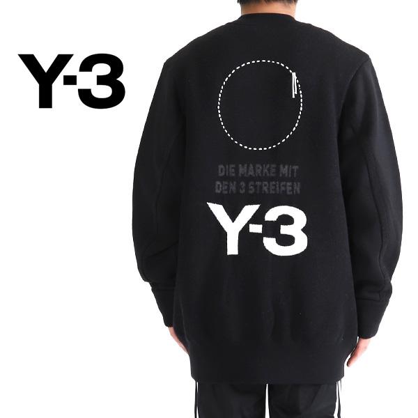 Y-3 ワイスリー オーバーサイズ ニットブルゾン DP0497 セーター Yohji Yamamoto ヨウジヤマモト (メンズ)
