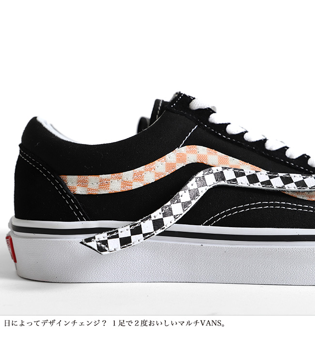 23f06cc2b3ba VANS vans side Velcro old school Ua Old Skool sneakers shoes (men s Lady s)