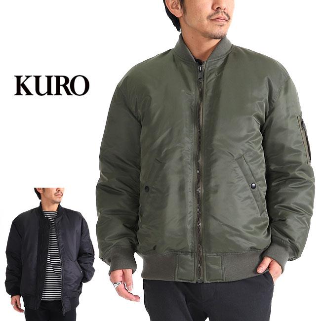KURO クロ MA-1 オーバーサイズ ミリタリージャケット 962098 (メンズ)