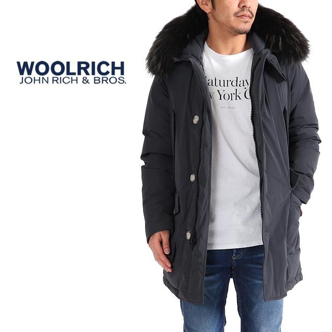 Woolrich ウールリッチ ファー付き ラグジュアリー アークティックパーカー DF ダウンジャケット MWOCPS2708 (メンズ)