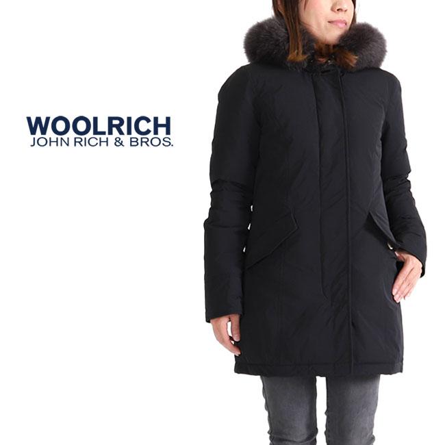 Woolrich ウールリッチ ファー付き ラグジュアリー アークティックパーカー FOX ダウンジャケット WWCPS2635 (レディース)