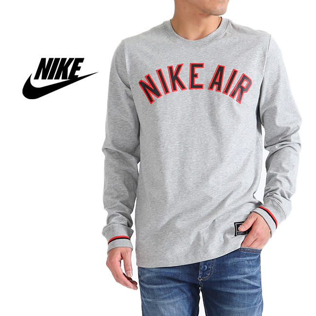 low price pretty cheap retail prices NIKE AIR Kie Ney alone T AR5173 long sleeves T-shirt (men's)