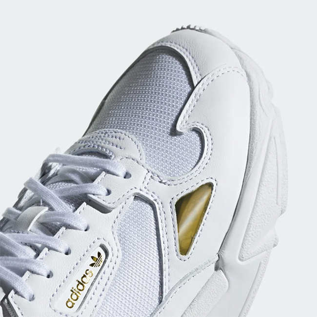 adidas Adidas originals FALCON falcon EE8838 white gold shoes sneakers (men's Lady's)