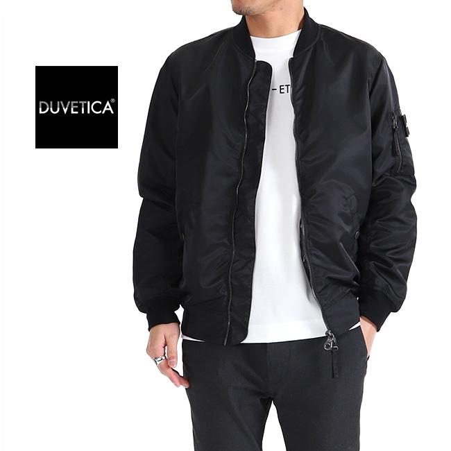 san francisco 4285d 73be0 DUVETICA duvet Thika nylon MA-1 Bonn bar jacket CAOLAN military jacket  (men's)