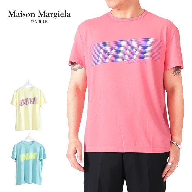 【TIME SALE 50%OFF】Maison Margiela メゾンマルジェラ グラフィックTシャツ 半袖Tシャツ (メンズ)