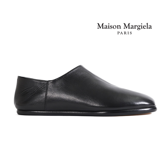 【TIME SALE 30%OFF】Maison Margiela メゾンマルジェラ レザー タビスリッポン (メンズ)