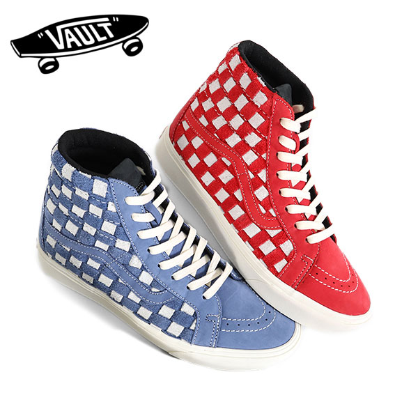 3e74695924dc3 VANS VAULT vans bolt checkerboard skating high Lee Shu Comfycush Sk8-Hi  Reissue Lx check Wort sneakers shoes (men's)