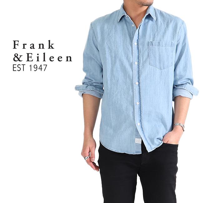 Frank&Eileen フランク&アイリーン LUKE ルーク デニムシャツ 長袖シャツ (メンズ)