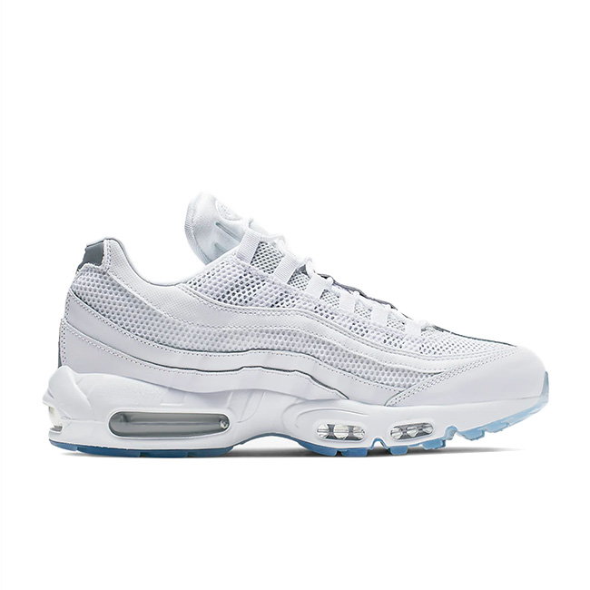 NIKE AIR MAX 95 ESSENTIAL Kie Ney AMAX 95 essential sneakers men white white 749,766 115