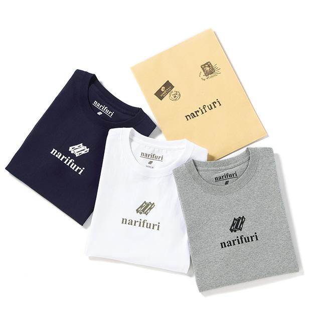 narifuri ナリフリ 3枚パックT ヘビーコットン スーベニアTシャツ NF1094 半袖Tシャツ (メンズ)