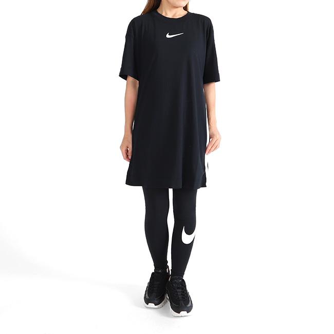 41c7f910e0ef Golden State: NIKE Nike back ビッグスゥオッシュ T-shirt dress BQ7961 ...