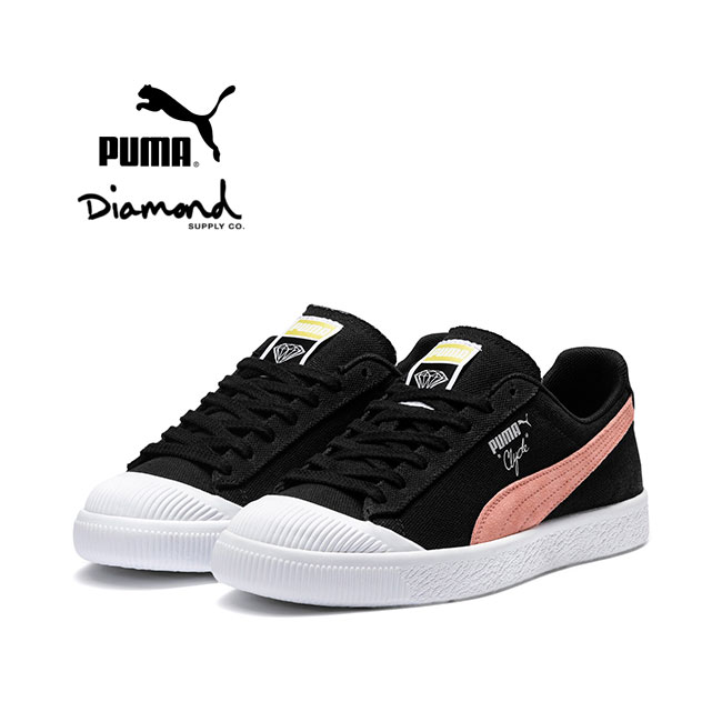 new concept b6775 d5b3c PUMA x DIAMOND SUPPLY Puma diamond supply Clyde sneakers Clyde 369397 shoes  (men's)