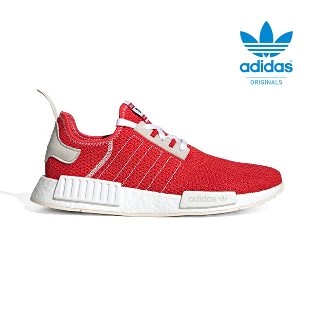 best sneakers db0ea bdd6e adidas Adidas originals NMD_R1 sneakers BD7897 BOOST boost shoes red (men's)