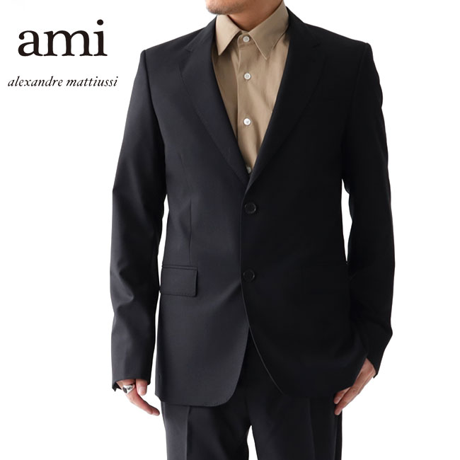 【TIME SALE 50%OFF】ami アミアレクサンドルマテュッシ テーラードジャケット ブレザー P19V012 スーツ (メンズ)