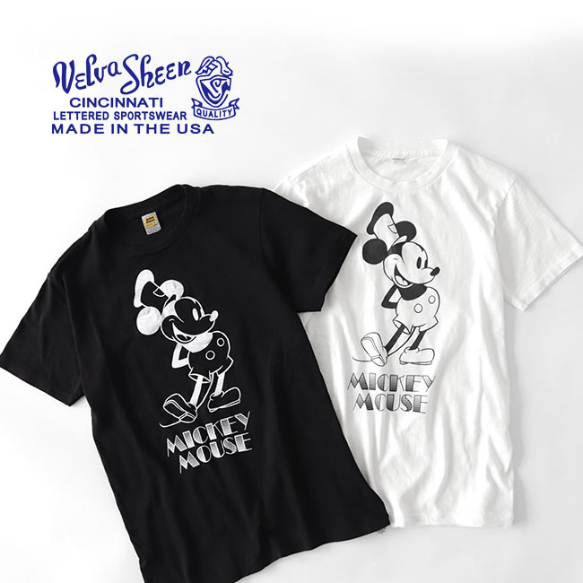 Velva Sheen ベルバシーン ビンテージ ミッキーTシャツ 161947 ディズニー (メンズ レディース)