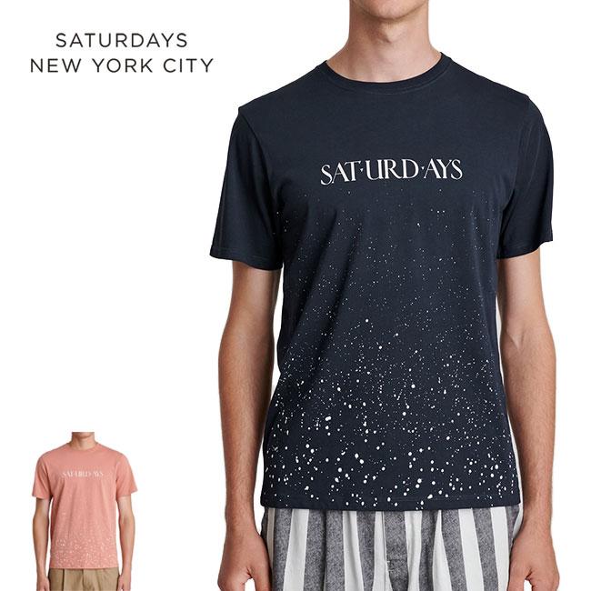 Saturdays NYC サタデーズ ニューヨークシティ ペイント ロゴTシャツ M41929PT17 10周年 (メンズ)