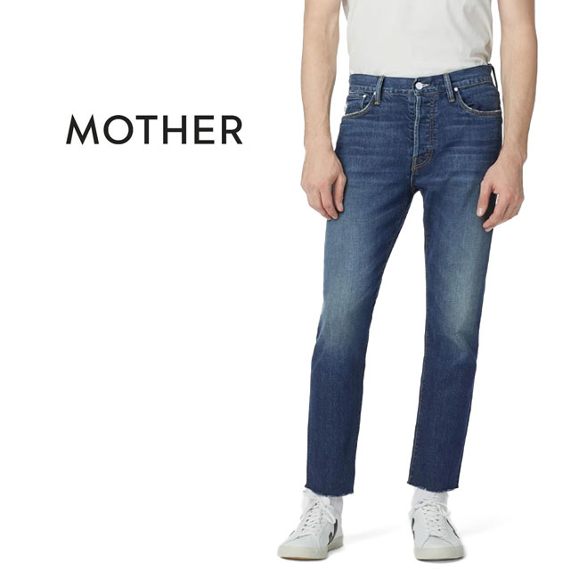 【TIME SALE 50%OFF】MOTHER DENIM マザー デニム THE CHASER ANKLE FRAY カットオフ ストレートジーンズ 3020600043 ジーパン (メンズ)