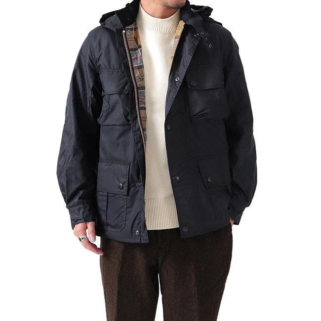 Barbour バブアー ウルスラ ジャケット ワックスド コットン MWX1356 フード付き オイルドジャケット (メンズ)