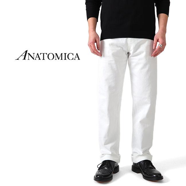 ANATOMICA アナトミカ リーン ホワイトジーンズ デニムパンツ 618 LEAN 530-541-22 白 (メンズ)