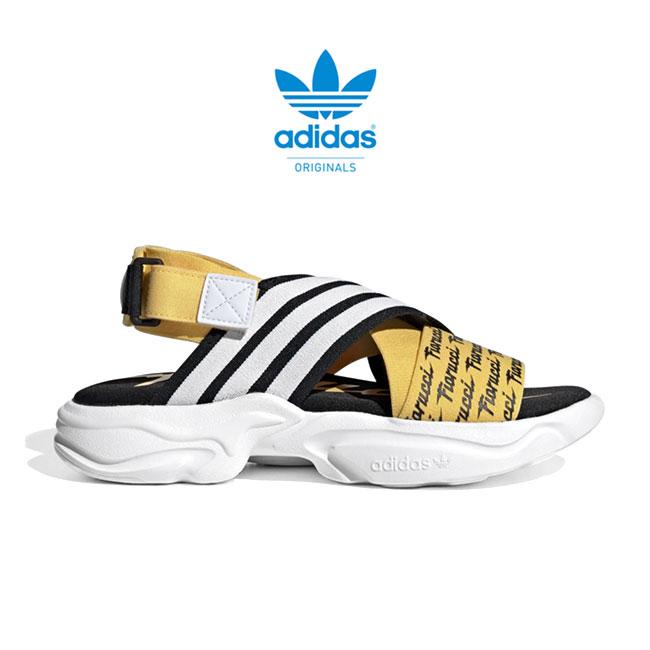 adidas × FIORUCCI アディダスオリジナルス フィオルッチ コラボ 3ライン ストラップサンダル EG6213 (メンズ レディース)