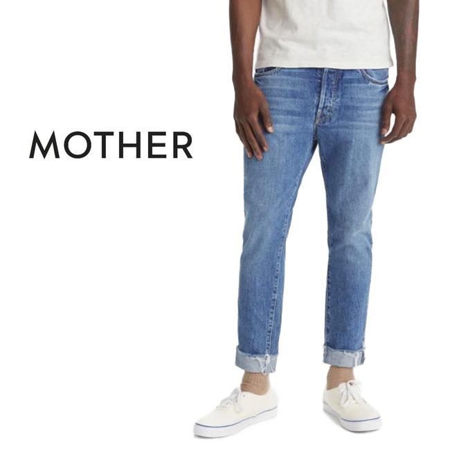 MOTHER DENIM マザーデニム The Chaser Ankle Cuff Fray カットオフ アンクルジーンズ 5114-313 デニムパンツ (メンズ)