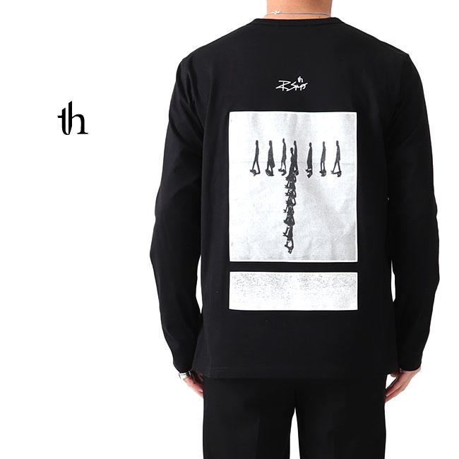 th.ティーエイチ フォトプリント ロンT T12A-M214 長袖Tシャツ TARO HORIUCHI タロウホリウチ (メンズ)