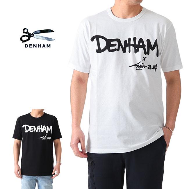 DENHAM x LASER 3.14 デンハム レーザー コラボ ロゴTシャツ (メンズ)