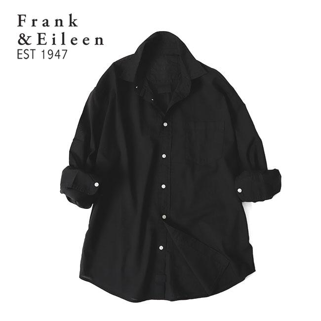 Frank&Eileen フランク&アイリーン LUKE ルーク ライトポプリンシャツ 9920700006 長袖シャツ (メンズ)