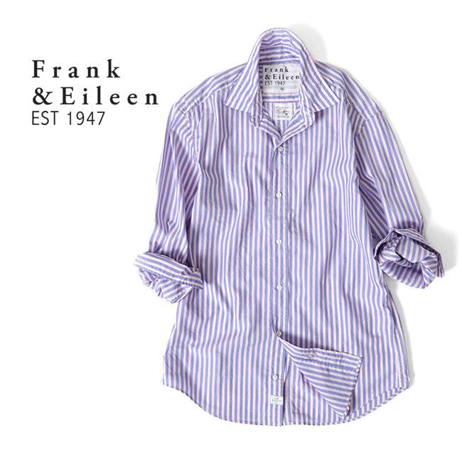 Frank&Eileen フランク&アイリーン FINBAR HBED フィンバー イタリアンコットン プレーンシャツ 3120700036 長袖シャツ (メンズ)