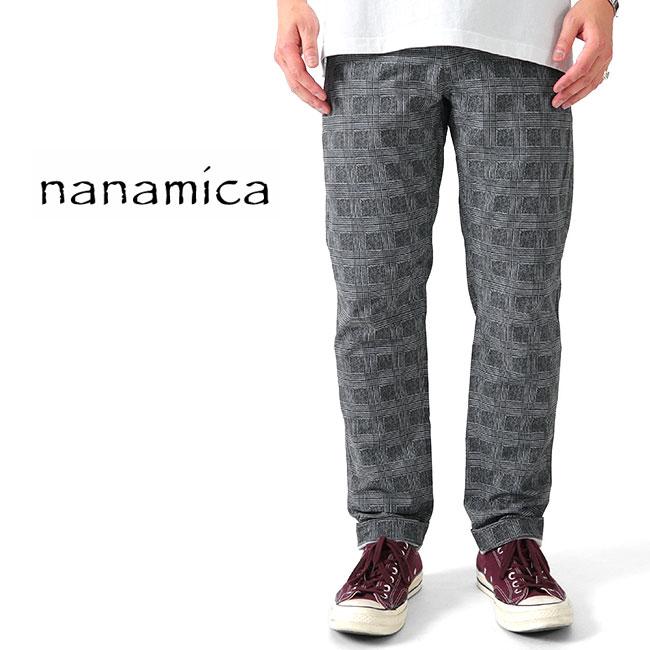 nanamica ナナミカ チェック アルファドライ ストレッチ グレンチェック クラブパンツ SUCS915 スラックス (メンズ)
