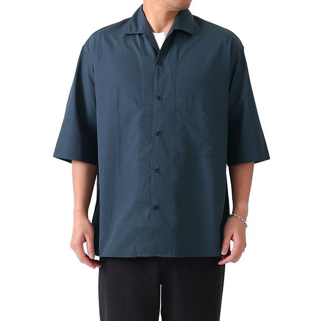 LEMAIRE ルメール コンバーチブル オープンカラーシャツ M 191 SH139 LF309 半袖シャツ (メンズ)