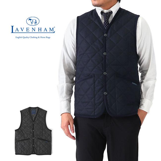 【予約商品】【先行予約】Add.限定モデル LAVENHAM ラベンハム ダブリン キルティング ウールベスト G192020 DUBLIN MENS 20 ジレ メンズ