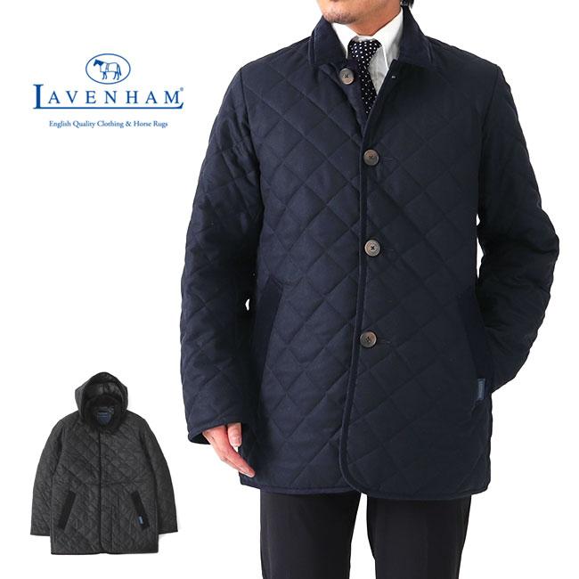 【予約商品】【先行予約】Add.限定モデル LAVENHAM ラベンハム デンストン フード付き キルティング ウールジャケット G192019 DENSTON MENS 20 メンズ